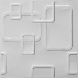 CAROL, bestaat uit natuurlijke plantvezels, geperst tot een 3D paneel, afmeting 500x500 mm,