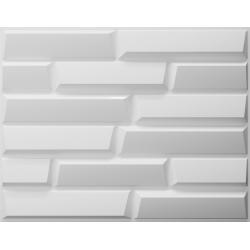 sandstone, bestaat uit natuurlijke plantvezels, geperst tot een 3D paneel, afmeting 625x800 mm,