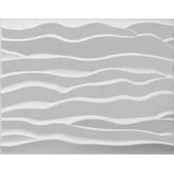 BEACH, bestaat uit natuurlijke plantvezels, geperst tot een 3D paneel, afmeting 625x800 mm,
